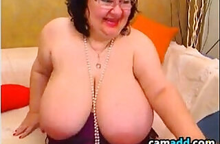 Large And Busty Granny