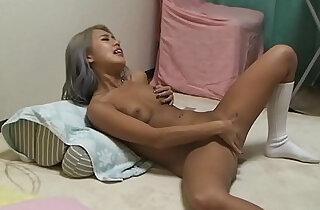 Japanese Suntan Gal MIRANO Masturbate and Orgasm