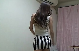 Peeping Naked Japanese school Girl Madoka at Her Room