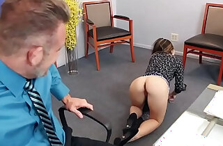 Bambi Brooks rides her dads cock on top