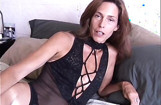 Super sexy slim old spunker masturbates fucks the cameraman
