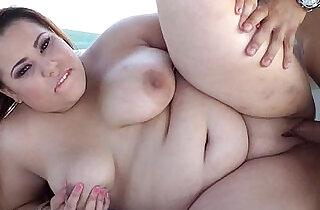 Curvy Latina BBW Kayla Sage Gets her throat Fucked on Boat