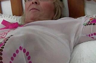 British granny Isabel has big tits and a fuckable fanny