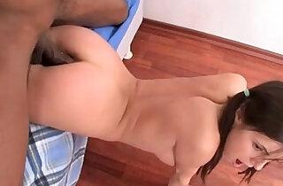 Russian girl anal strapon fuck