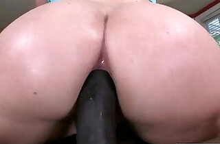 Beautiful girl Maddy gets tight juicy ass fucked deep and hard by a black hard long cock