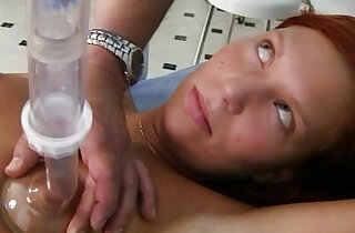 Redhead pussy examination by kinky gyno doctor in top redheads videos