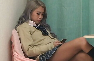 Upskirt the panty from under desk