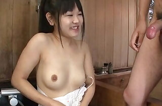 Koyuki Ono brunette bimbo blows big cock like an angel