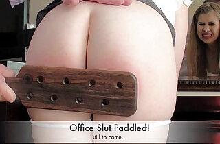 Doggystyle spanking