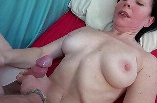 Wanton grandma is really enjoying his fuck stick
