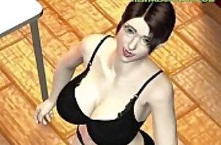Insanely Sexy Horny Hentai Babe