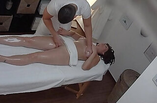Busty MILF Fucked During Massage