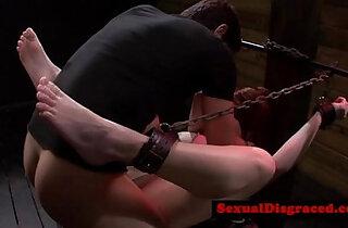 Busty bdsm bondage sub pussy destroyedreed 25