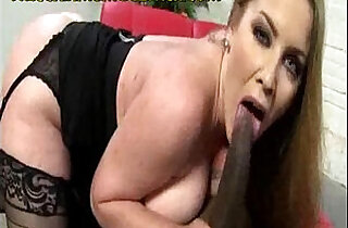 Interracial Sex Ride for Big Titted Mom